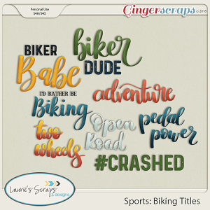 Sports: Biking Titles