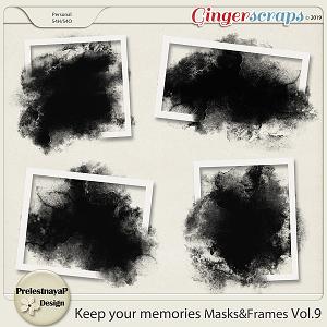Keep your memories Masks&Frames Vol.9