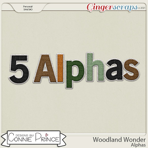 Woodland Wonder - Alpha Pack AddOn by Connie Prince