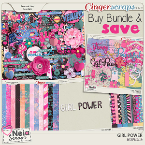 Girl Power - Bundle - by Neia Scraps
