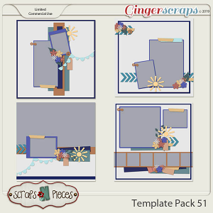 Template Pack 51 by Scraps N Pieces