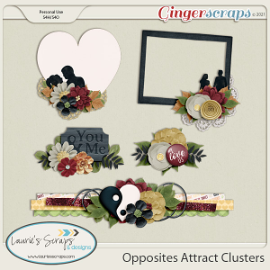 Opposites Attract Clusters
