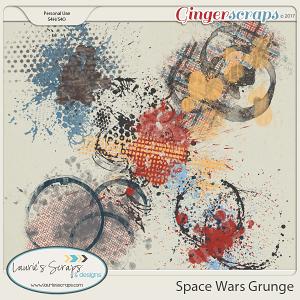 Space Wars Grunge