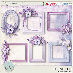 The Sweet Life Cluster Frames by Ilonka's Designs