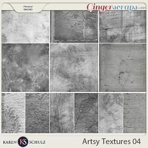 Artsy Textures 04 by Karen Schulz