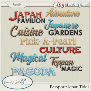 Passport: Japan Titles