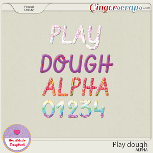 Play dough - alpha