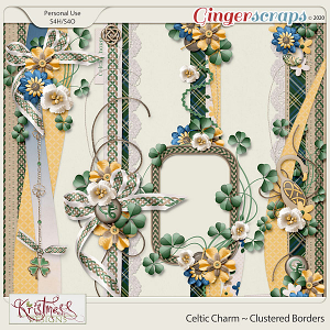 Celtic Charm Clustered Borders
