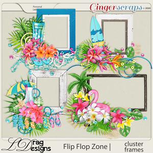 Flip Flop Zone: Cluster Frames by LDragDesigns