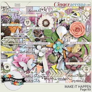 Make it Happen - Page Kit by Lisa Rosa Designs