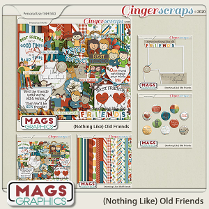 Old Friends BUNDLE by MagsGraphics