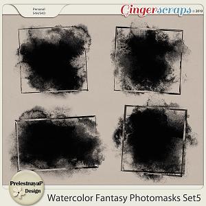 Watercolor fantasy Photomasks Set5