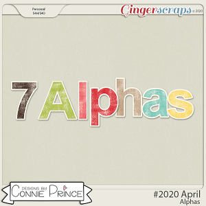 #2020 April - Alpha Pack AddOn by Connie Prince