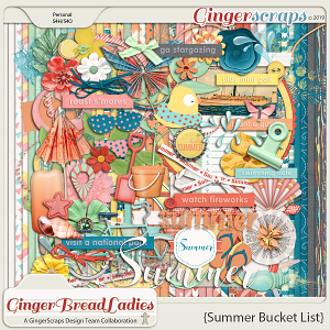GingerBread Ladies Collab: Summer Bucket List