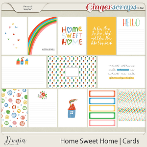Home Sweet Home   Cards by Dunia Designs
