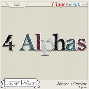 Winter Is Coming - Alpha Pack AddOn by Connie Prince