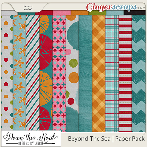 Beyond The Sea | Paper pack