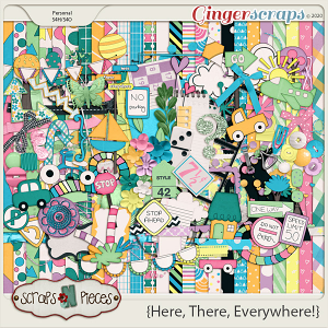 Here, There, Everywhere bundled kit by Scraps N Pieces