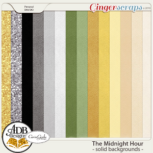 The Midnight Hour Solid Papers by ADB Designs