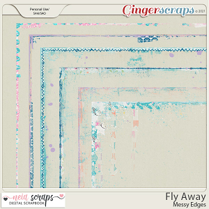 Fly Away - Messy Edges - by Neia Scraps