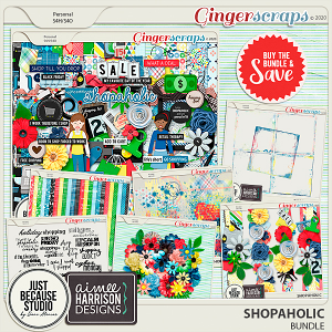 Shopaholic Bundle by JB Studio and Aimee Harrison Designs