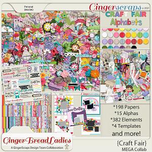 GingerBread Ladies MEGA Collab: Craft Fair