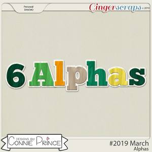 #2019 March - Alpha Pack AddOn by Connie Prince