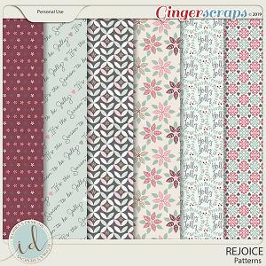Rejoice Patterns by Ilonka's Designs