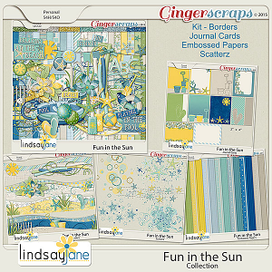 Fun In The Sun Collection by Lindsay Jane