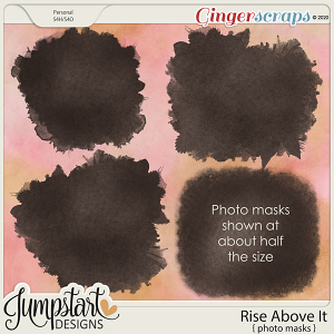 Rise Above It {Photo Masks} by Jumpstart Designs