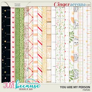 You Are My Person Papers by JB Studio