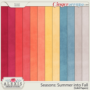 Seasons: Summer into Fall - Solids