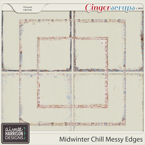 Midwinter Chill Messy Edges by Aimee Harrison