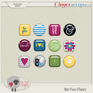 Be You Flairs by Luv Ewe Designs