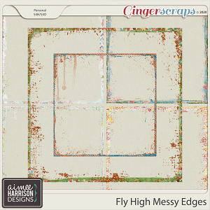 Fly High Messy Edges by Aimee Harrison