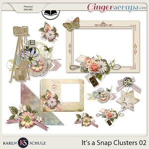 Its a Snap Clusters 02 by Karen Schulz and ADB Designs
