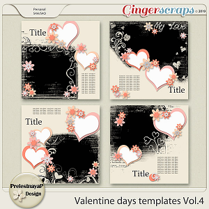 Valentine Day Templates Vol.4