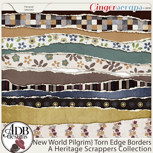 New World Pilgrim Borders by ADB Designs