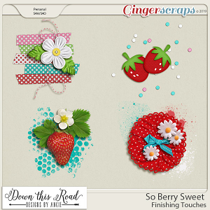 So Berry Sweet | Finishing Touches