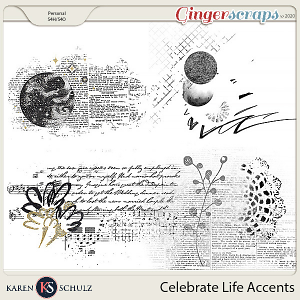 Celebrate Life Accents by Snickerdoodle Designs