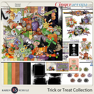Trick or Treat Collection by Karen Schulz