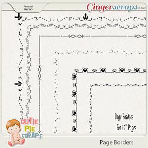 Page Borders 08 By Cutie Pie Scraps