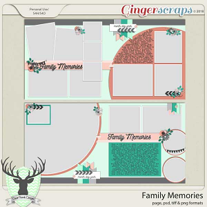 Family Memories by Dear Friends Designs