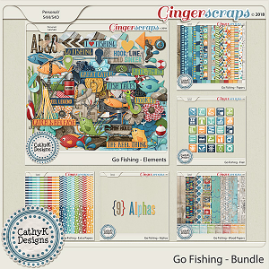 Go Fishing - Bundle by CathyK Designs