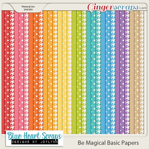 Be Magical Basic Paper Pack