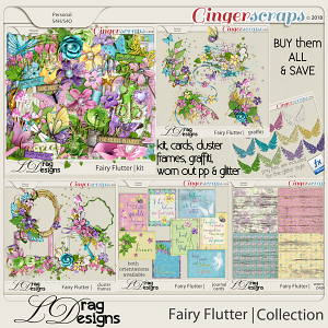 Fairy Flutter: The Collection by LDragDesigns