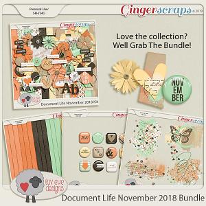 Document Life November 2018 Bundle by Luv Ewe Designs