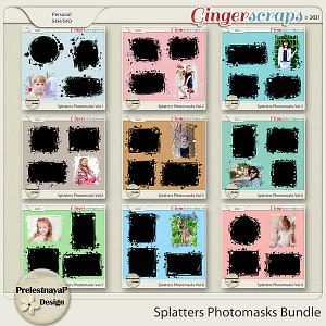 Splatters Photomasks Bundle