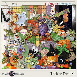 Trick or Treat Kit by Snickerdoodle Designs