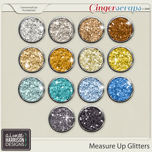 Measure Up Glitters by Aimee Harrison